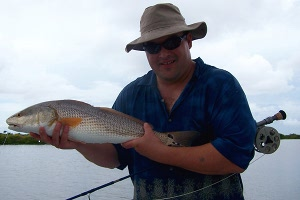 beaudette redfish on fly