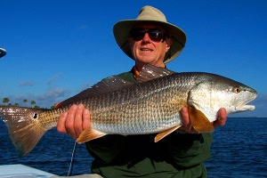 bouma redfish on fly