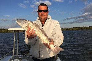 redfish caught near new smyrna