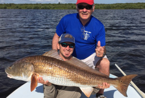 40 pound redfish indian river