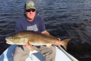 trophy redfish north indian river
