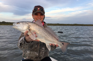 redfish fishing trip spring new smyrna beach