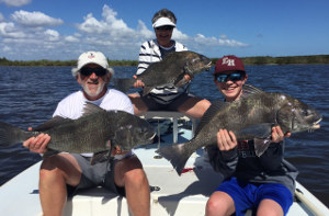 indian river winter black drum fishing trip