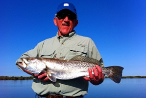 8 pound speckled trout new smyrna beach area
