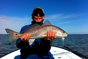 coldiron redfish on fly