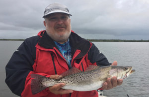 speckled trout fishing in mosquito lagoon new smyrna