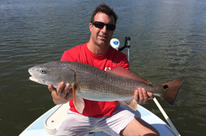 new smyrna beach redfish fishing trip