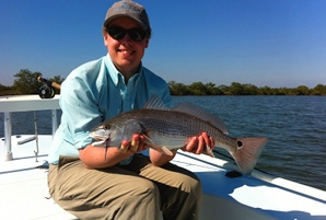 dutton redfish on fly