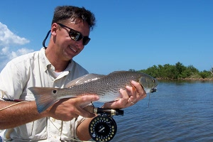 elrod redfish on fly