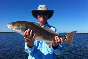mosquito lagoon fishing for redfish