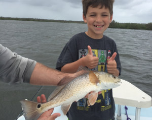fall redfish fishing trip near new smyrna