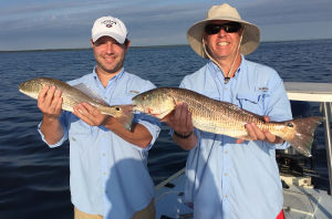charter for mosquito lagoon redfish