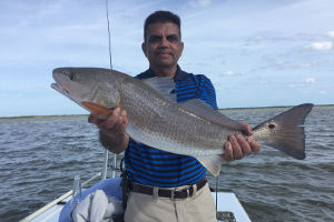 red drum fishing charters near new smyrna beach