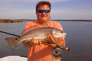 hart redfish on fly