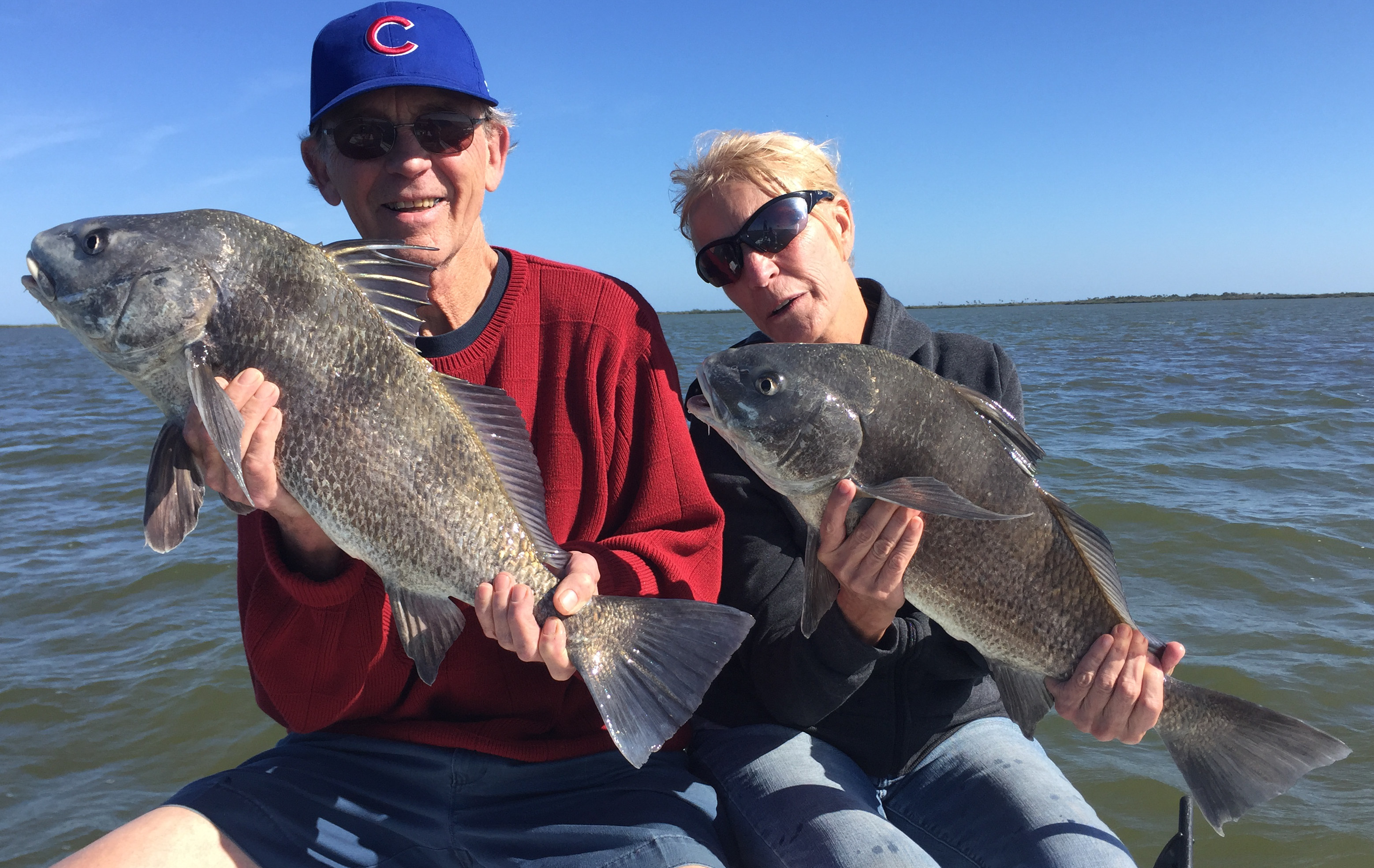 catching black drum mosquito lagoon