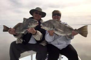 winter black drum fishing mosquito lagoon