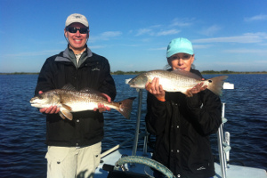 mosquito lagoon redfish double
