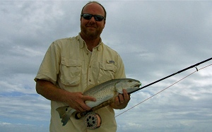 kelly redfish on fly