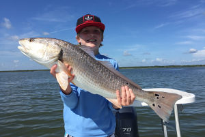 fishing for redfish north mosquito lagoon