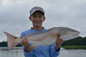 redfish caught in jacksonville