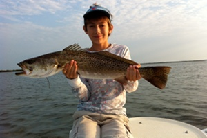 28 inch lagoon speckled trout