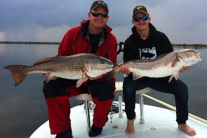Bull redfish Indian River Lagoon