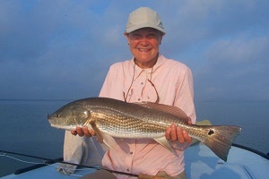 mary redfish on fly