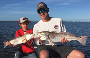 spring break redfish trip mosquito lagoon