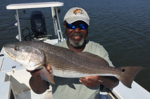 red drum fishing charter central florida