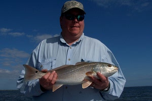 missel redfish on fly