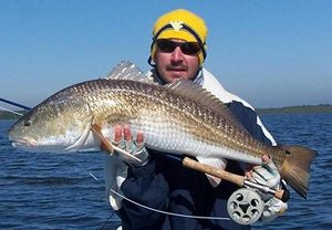 nate redfish on fly