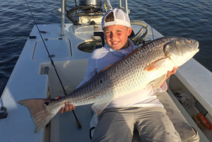 summer fishing charter florida bull redfish