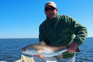 overson redfish on fly