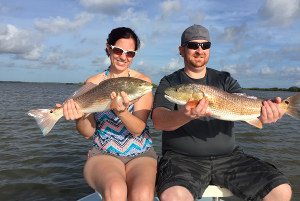 red drum double up mosquito lagoon