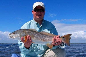 plankey redfish on fly