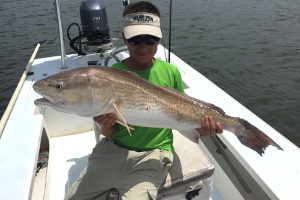 redfish charters in new smyrna