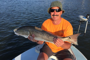 redfish fishing charter near ponce inlet