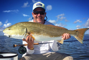 fly fishing big bull reds mosquito lagoon