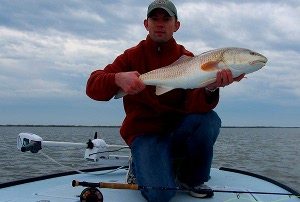 rutledge redfish on fly