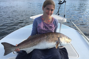 bull red fishing near ponce inlet