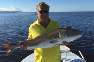 fishing indian river for trophy redfish