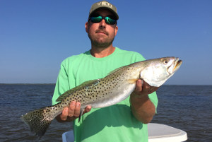 mosquito lagoon speckled trout fishing