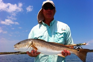 zarelli black drum on fly