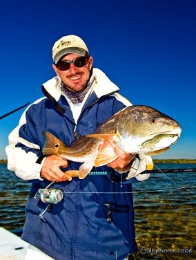 redfish caught on new smyrna beach fishing charter