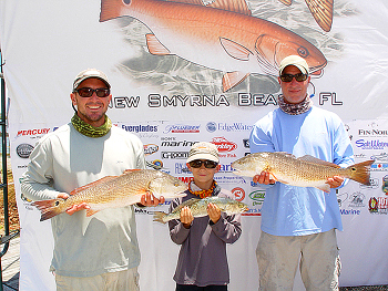 redfish tournament winner new smyrna beach