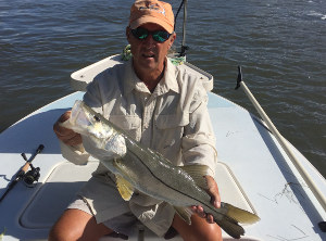 snook fishing in mosquito lagoon