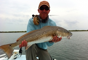 crame redfish on fly