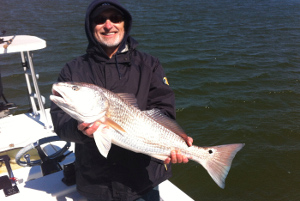 redfish trip new smyrna beach