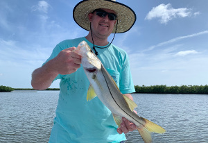 fishing snook nsb florida