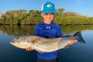 new smyrna beach gator speckled trout